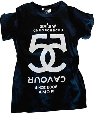 5Preview 5 Preview Black Cotton Top for Women
