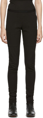 Rick Owens Black Easy Nagakin Leggings