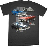 Joe Blow GM Chevrolet Chevelle Classic Car Lineup Automobile T-Shirt Tee-xxxl