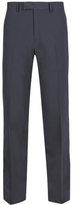 Limited Edition Navy Superslim Flat Front Trousers