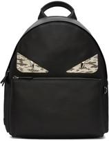 Fendi Black Monster Backpack