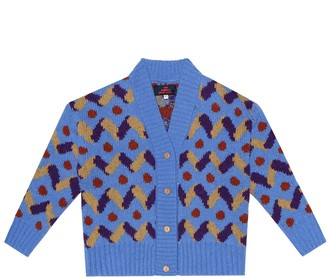 The Animals Observatory Racoon wool cardigan