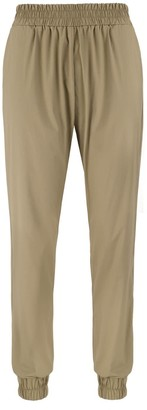 Monica Nera Eveline Khaki Cotton Trousers