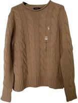 Polo Ralph Lauren Camel Cashmere Knitwear