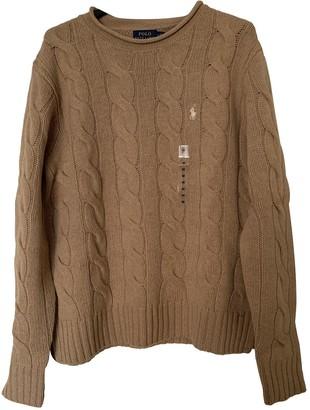 Polo Ralph Lauren Camel Cashmere Knitwear for Women