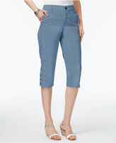 Style&Co. Style & Co Snap-Hem Capri Pants, Only at Macy's