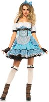 Leg Avenue Women's 3 Piece Rebel Alice Costume