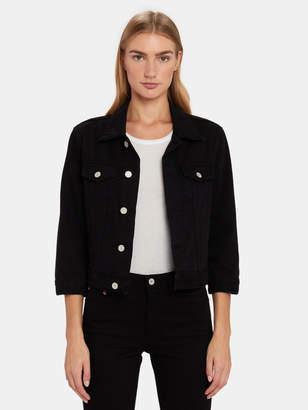 Zoey Trave Crop Denim Jacket