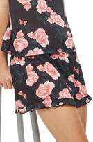 Topshop Rose Pajama Shorts