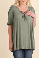 Umgee USA Olive Swing Top