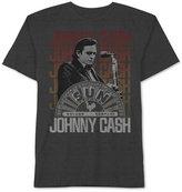 JEM Men's Big & Tall Johnny Cash On Stage Graphic-Print T-Shirt