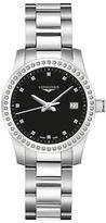 Longines Diamond & Stainless Steel Watch