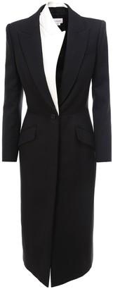 Alexander McQueen Long-Line Tailored Coat