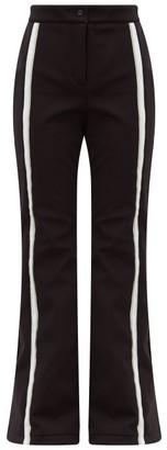 Fendi Roma Wide-leg Ski Trousers - Womens - Black