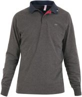 Sun 68 Cotton Jersey Long Sleeve Polo