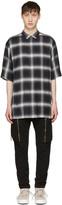 Helmut Lang Black Drawcord Shirt