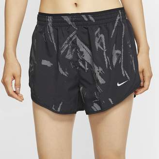 Nike Women's Graphic Running Shorts Tempo Lux
