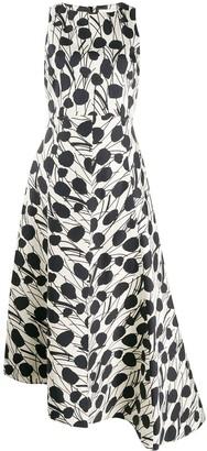 La DoubleJ Pina floral print dress