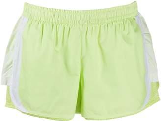 adidas by Stella McCartney contrast stripe running shorts