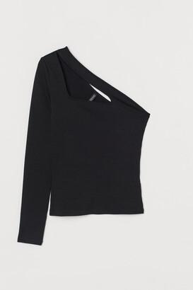 H&M One-shoulder Top