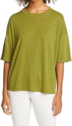 Eileen Fisher Organic Linen T-Shirt