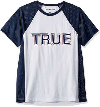 True Religion Men's Contrast Raglan Shirt