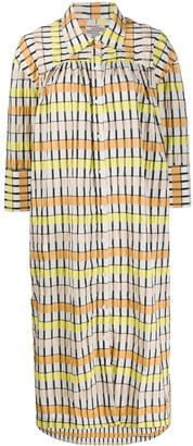Baum und Pferdgarten Aenya checked shirt dress