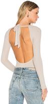 LnA Tie Back Bodysuit