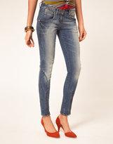 Miss Sixty Skinny Jeans With Zips