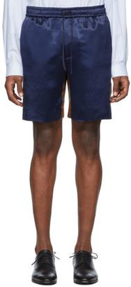 Gucci Blue Bi-Material Shorts