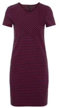 Dorothy Perkins Womens **Vero Moda Navy Short Sleeve Jersey Shift Dress