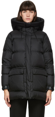 Mackage Black Down Foil Shield Maisie Coat