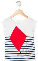 Burberry Girls' Kite Print Short Sleeve Top