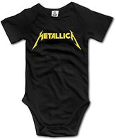 TLK Baby Onesie TLK Metallica Band Logo Babys Bodysuit Outfits