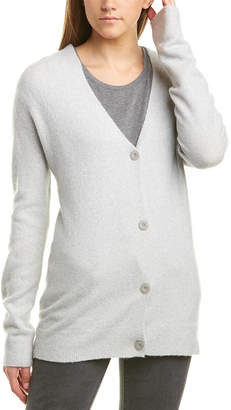 ATM Anthony Thomas Melillo Dropped-Shoulder Wool & Cashmere-Blend Cardigan