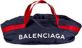 Balenciaga Nylon Logo Basic Duffel Bag