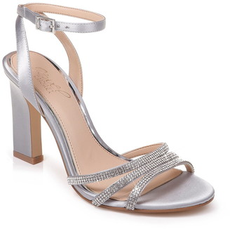 Badgley Mischka Sparkle Embellished Sandal