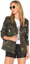 Jocelyn Field Jacket With Stars in Army. - size L (also in )