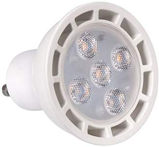 ECO Lights 4-Piece LED Bulb, Thermal Plastic, GU10, 60 W, Warm White, Pack of 4