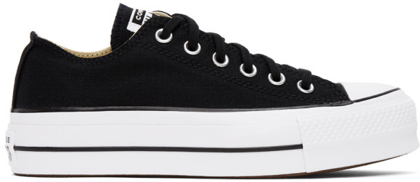 Converse Black Chuck Lift Sneakers