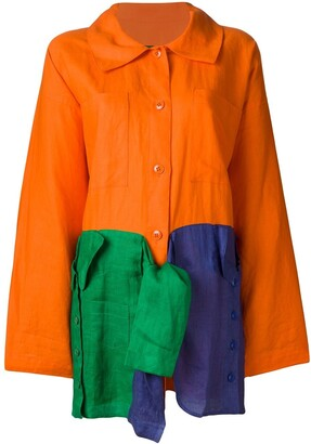 JC de CASTELBAJAC Pre-Owned oversized light coat