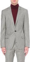 Bally Regular-fit Woven Check Virgin-wool Jacket