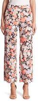 Agnona Floral Silk Pants