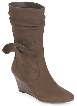 JB Martin URIEL women's Low Ankle Boots in Brown