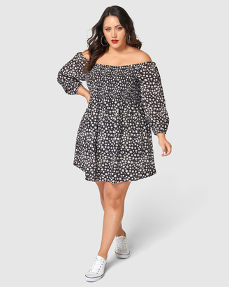 Sunday In The City Industry Games Print Dress