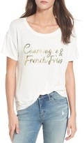 Daydreamer Women's Champagne & French Fries Tee
