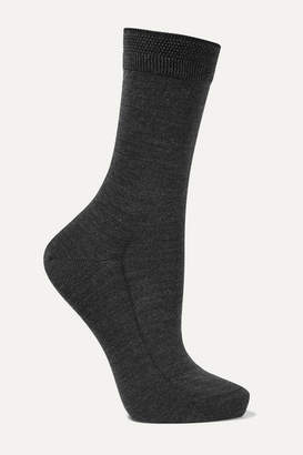 Falke No. 3 Wool-blend Socks - Charcoal