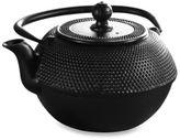 Primula Tea® Cast Iron 40-Ounce Black Matted Teapot