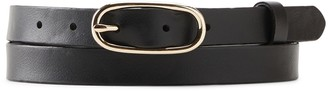 Banana Republic Skinny Oval Buckle Belt