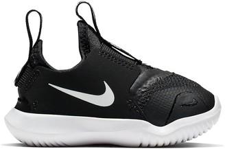 Nike Flex Runner Infant Trainer - Black White